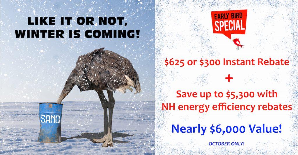 Early Bird Special - October 2019