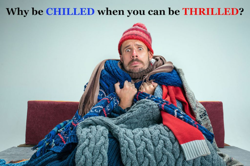 Man Couch Blankets Cold