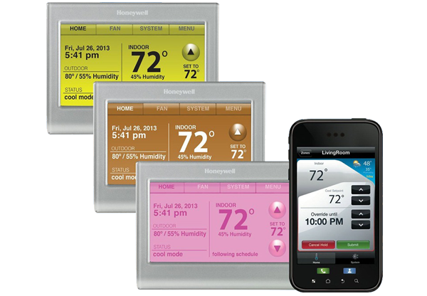 WiFi Thermostats with Smartphone